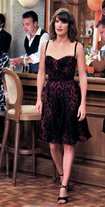 How I Met Your Mother (Robin in Dolce and Gabbana) Loved this dress !