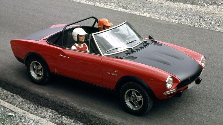 #Fiat 124 Spider Abarth