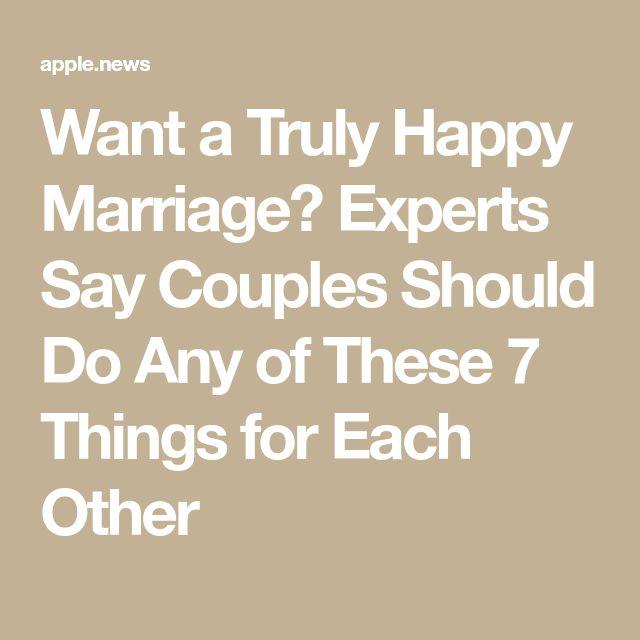 Quer um casamento verdadeiramente feliz? Especialistas dizem que os casais devem fazer uma dessas 7 coisas uns pelos outros – Inc.   – Relationship