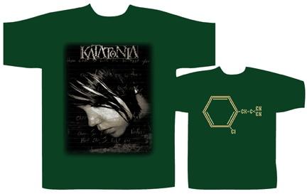 Katatonia - Teargas (green version 99)