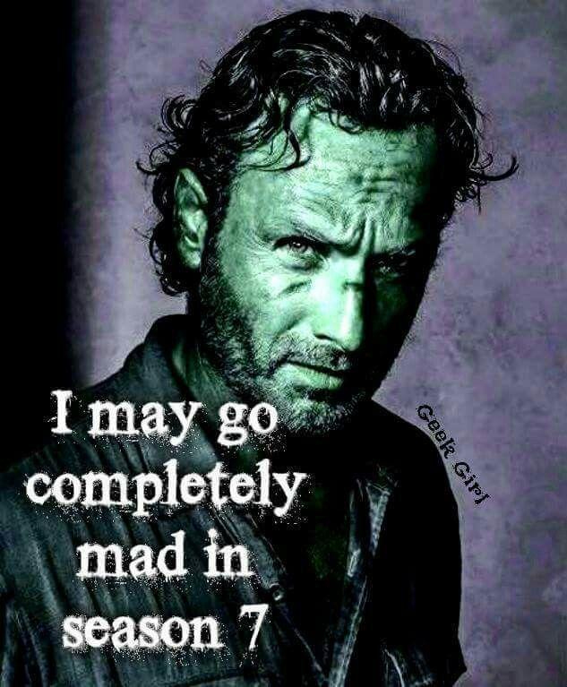 Season 7 Rick Grimes. Bring it.