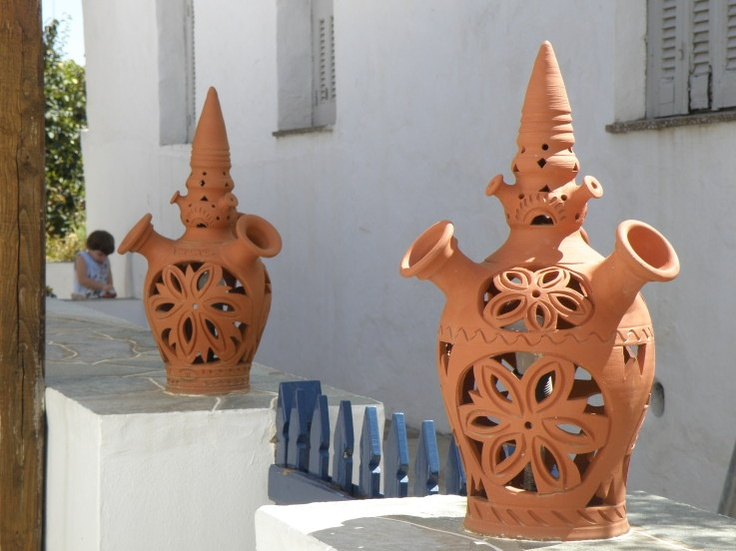 sifnos pottery FLAROS