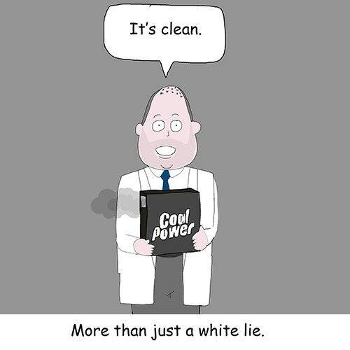 Clean caol