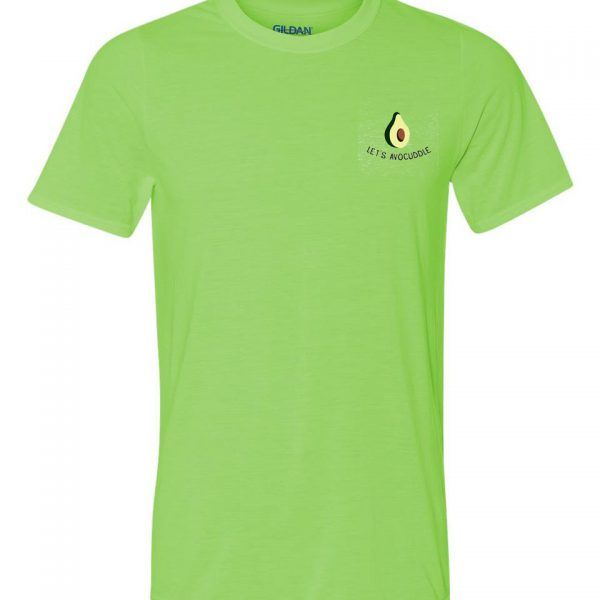 Lets Avoucddle Green T-shirt