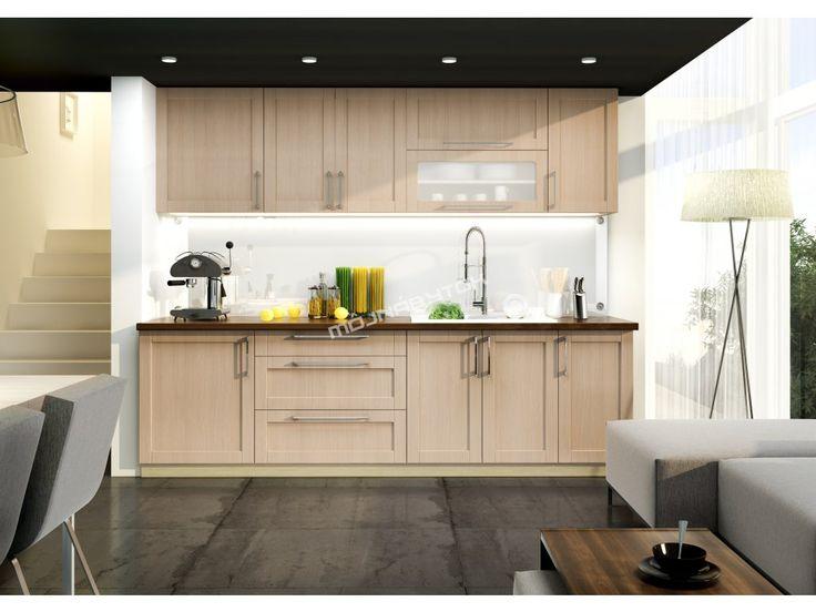 Fantastická kuchynská linka s možnosťou vlastného výberu farebného prevedenia dvierok, korpusu či pracovnej dosky to je KAROLINA.