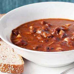 Najlepší hovädzí kotlíkový guláš | recepty varenie