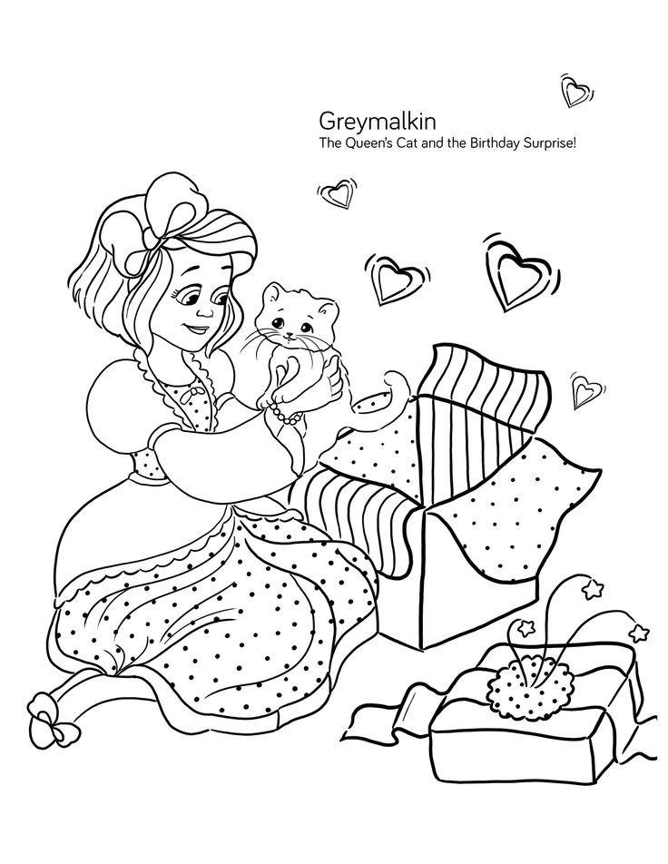 30 best Greymalkin, the Queen's Cat images on Pinterest