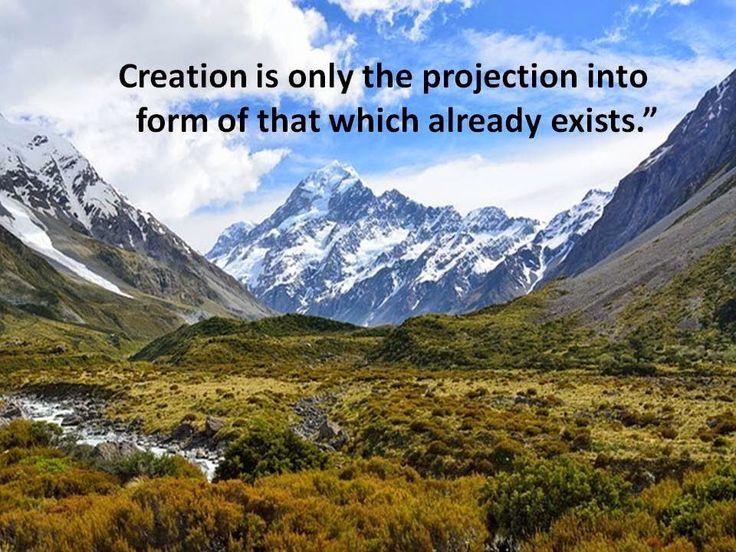 On Creation!