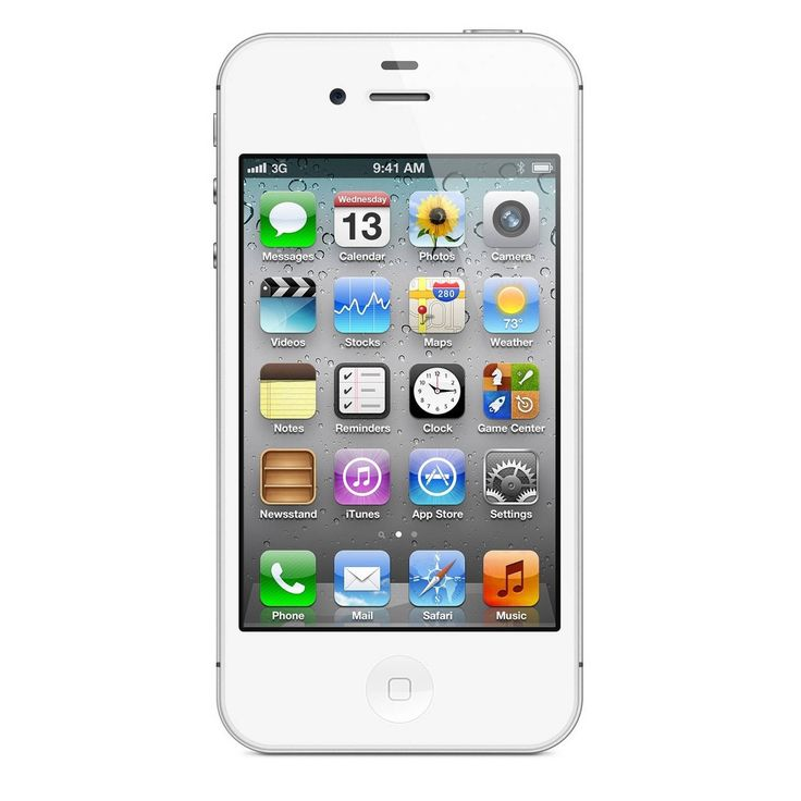 Apple iPhone 4S 8GB Factory Unlocked GSM iOS 8MP Camera Certified Refurbished Smartphone - #IPH 4S 8GB WHT CRB