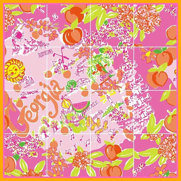 Brand new Lilly Pulitzer Georgia Print! So cute!! @Lilly Pulitzer A new store just opened at Phipps Plaza in Atl!