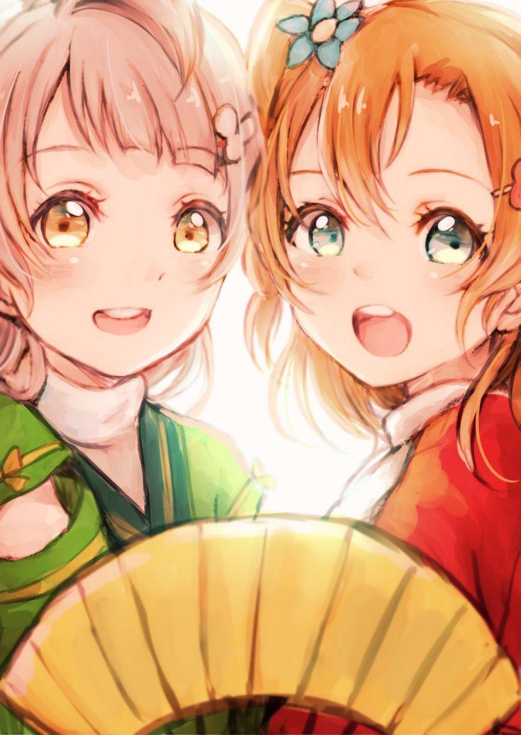 Love Live!, Kotori & Honoka, lilylion26