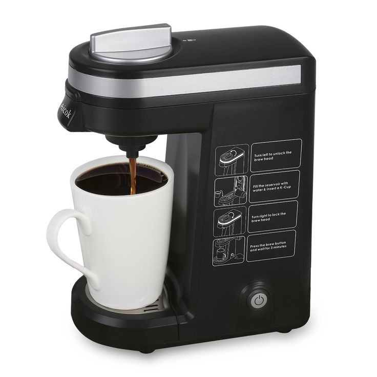 Aicok Single Serve K-cup Coffee Maker ** More info could be found at the image url.
