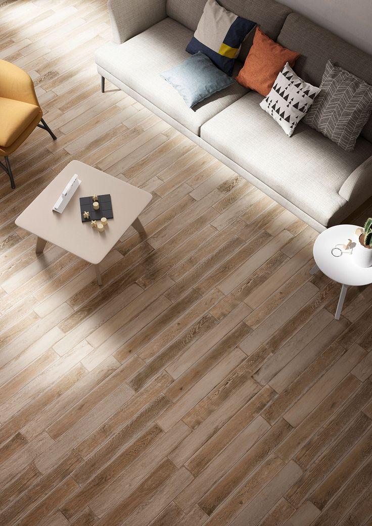 Treverkage – wood effect porcelain tiles | Marazzi