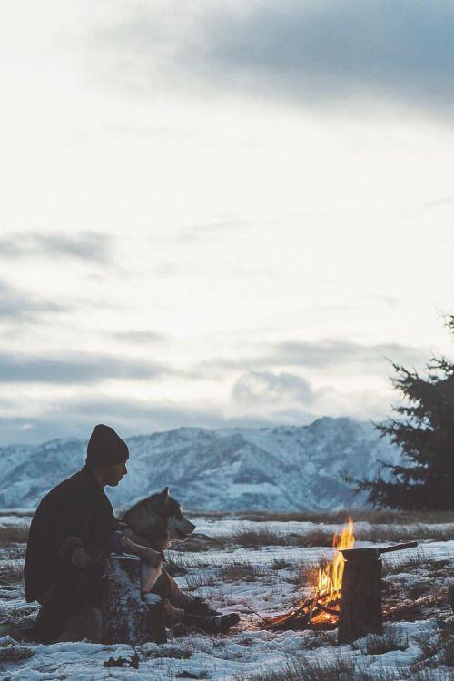 Wanaka // Johan Lolos // husky, camping