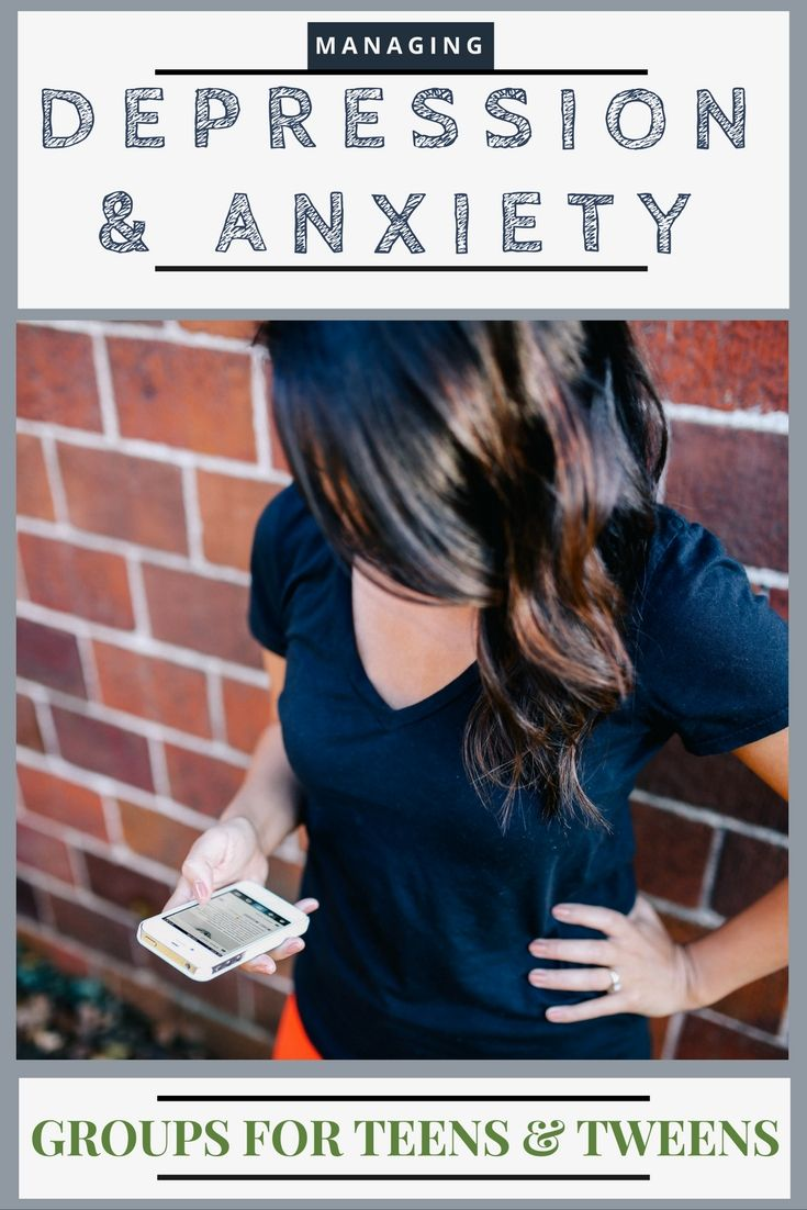 Managing Depression & Anxiety {a group for adolescents}
