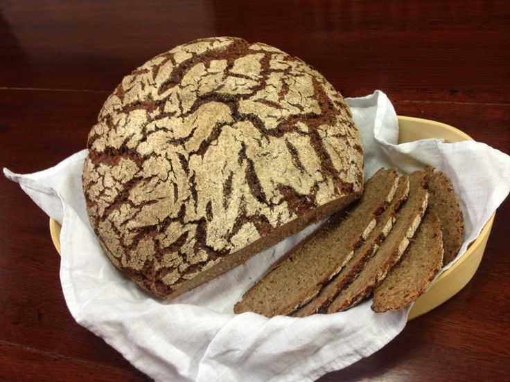 #Raimugido sourdough rye - so good and healthy.