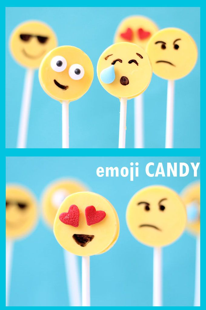 Emoji Candy Easy Pops With The Silcone Lollipop Mold Chocolate Pops Chocolate Pops Lollipop Mould Emoji Party