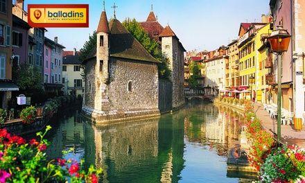 Annecy : 1 à 3 nuits avec petit déjeuner à l'Hôtel Balladins Annecy Cran-Gevrier pour 2 personnes