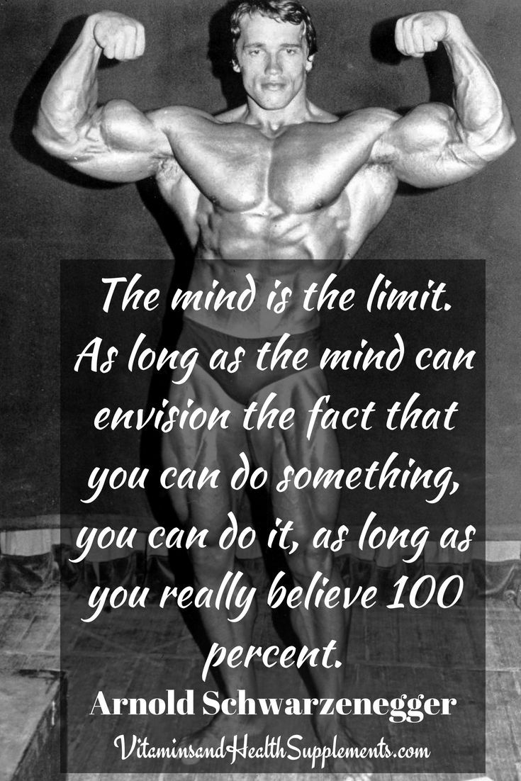 Motivation Tuesday: Arnold Schwarzenegger, The Mind Is the Limit |  Culturismo