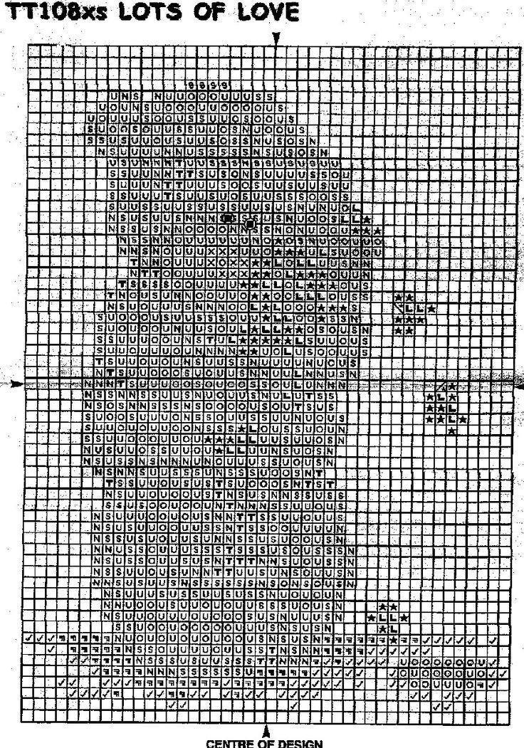 Jar Of Hearts ~Tatty Teddy chart
