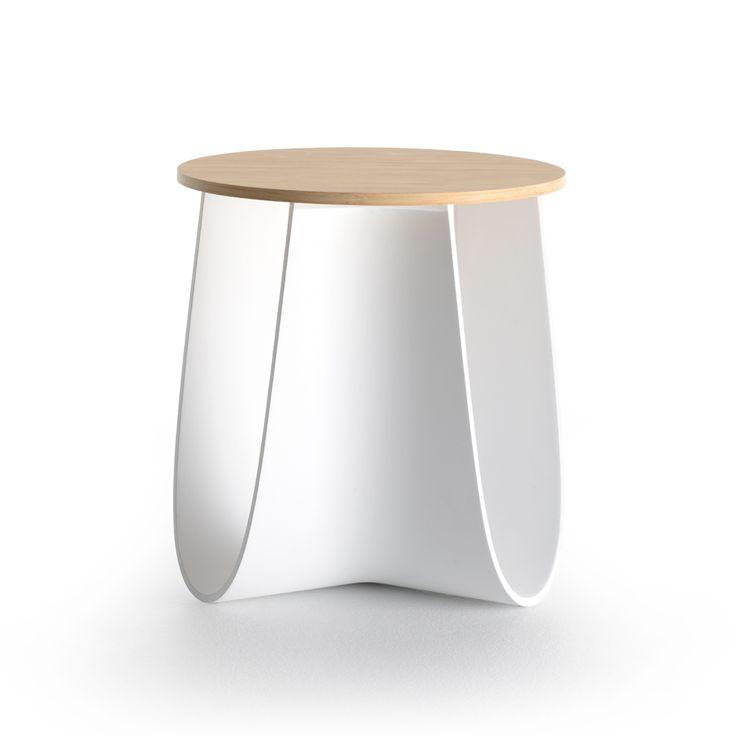 Sag stool by Nendo for MDF Italia is designed to double as a table