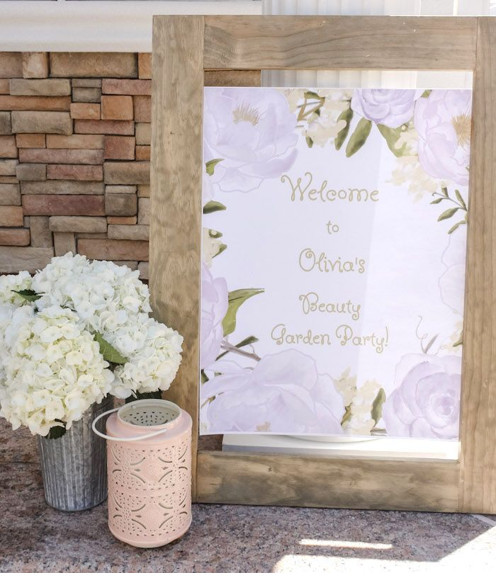 Beauty Boutique Garden Party Karas Party Ideas Beauty Boutique Garden Party