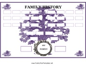 50 family tree charts you can download and print for free.