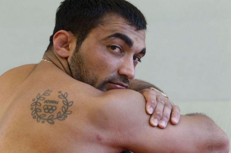 Greece's Olympic gold medallist in judo Ilias Iliadis