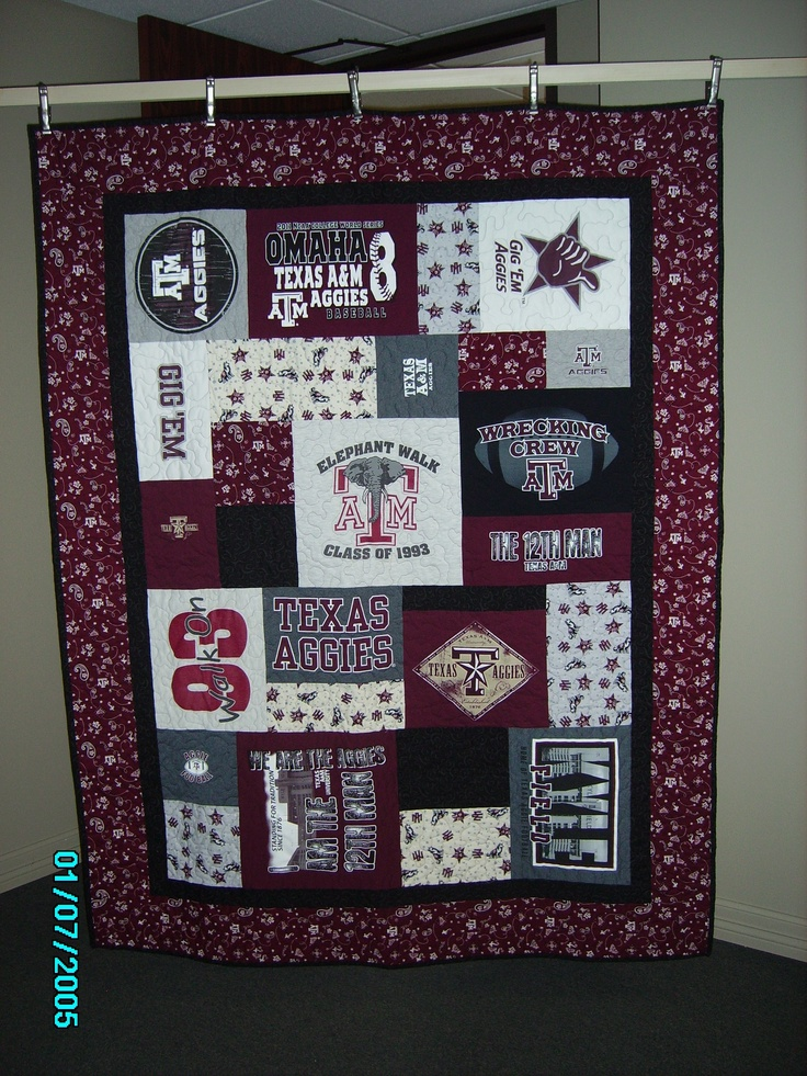 1000 Images About Aggie Blankets Quilts Or Pillows On