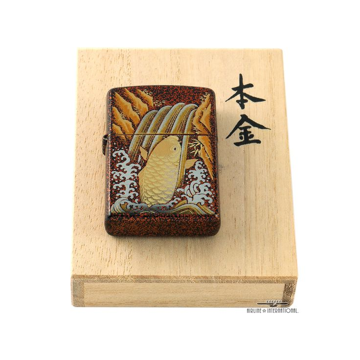 Zippo Limited Edition Maki-e Koi Lighter | eBay