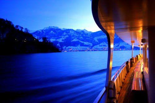 Lake Lucerne Switzerland  - Photos by Garnet Allwright