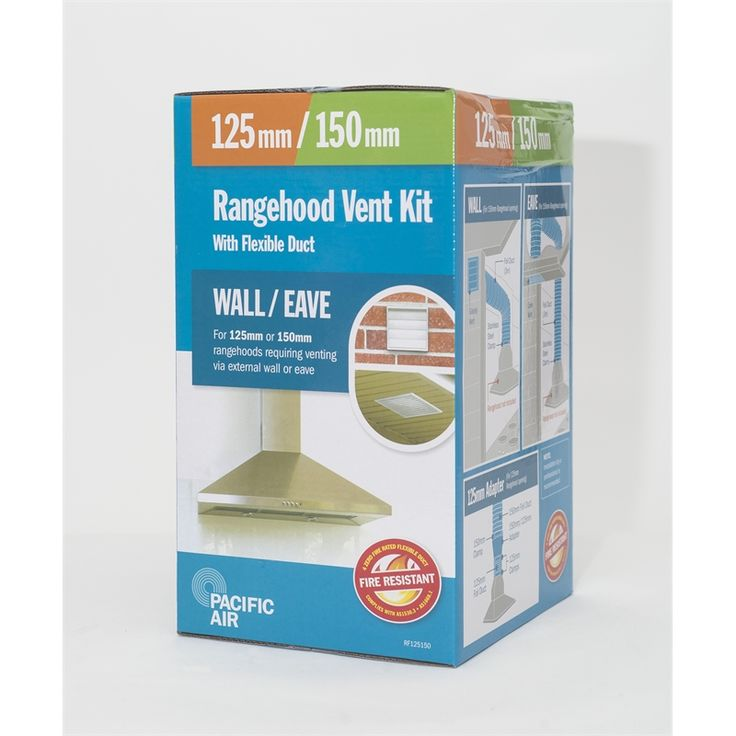 Find Pacific Air 125-150mm Flexible Wall OR Eave Rangehood Ducting Kit at Bunnings Warehouse. Visit your local store for the widest range of kitchen products.