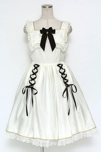 Angelic Pretty / True Doll jumper skirt - closet child online shop