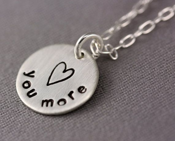 Love this for my daughter, always say I love you more <3