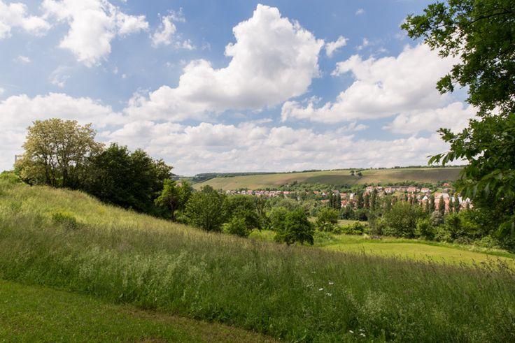 Blick vom Polisina ins Tal