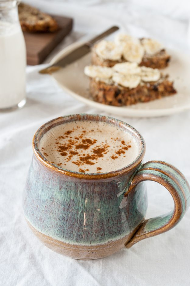 Cashew Milk Lattes + More Nut & Seed Bread
