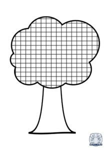 Copac cu spațiu matematică