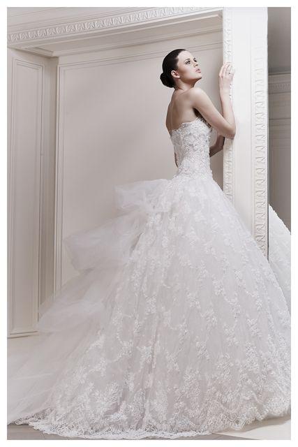 Zuhair Murad #Wedding dress www.finditforweddings.com