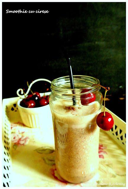 Kitchening: Smoothie cu cireşe