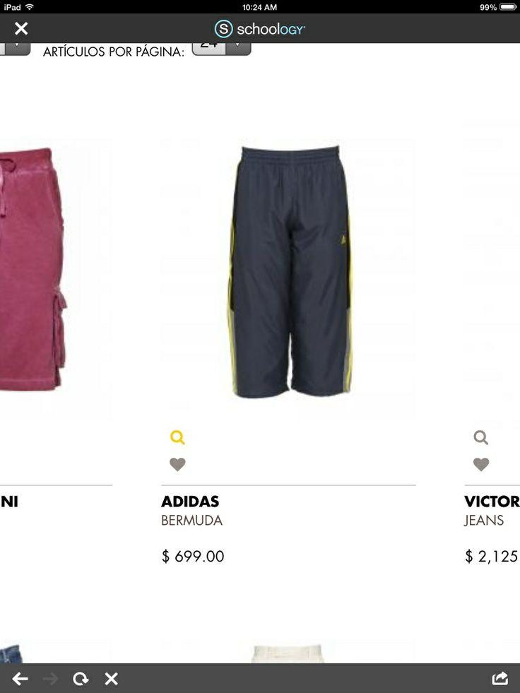 Es  los pantalones cortos