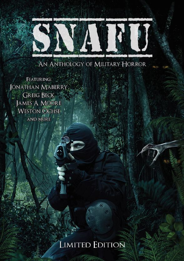 Reworked limited edition SNAFU cover.