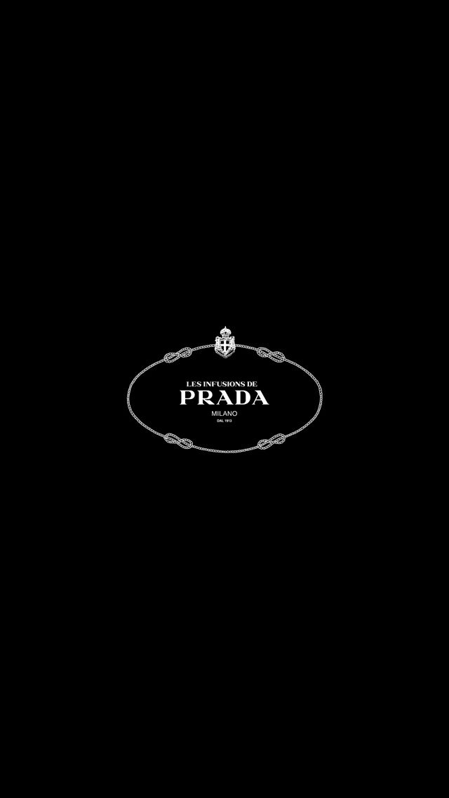 PRADA LOGO love this as a simple backdrop for a news kit
