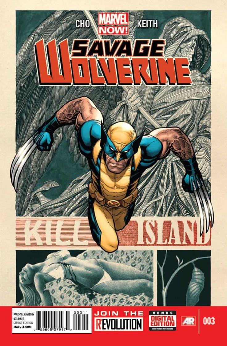Savage Wolverine #3 - Savage Part 3: Kill Island (Issue)