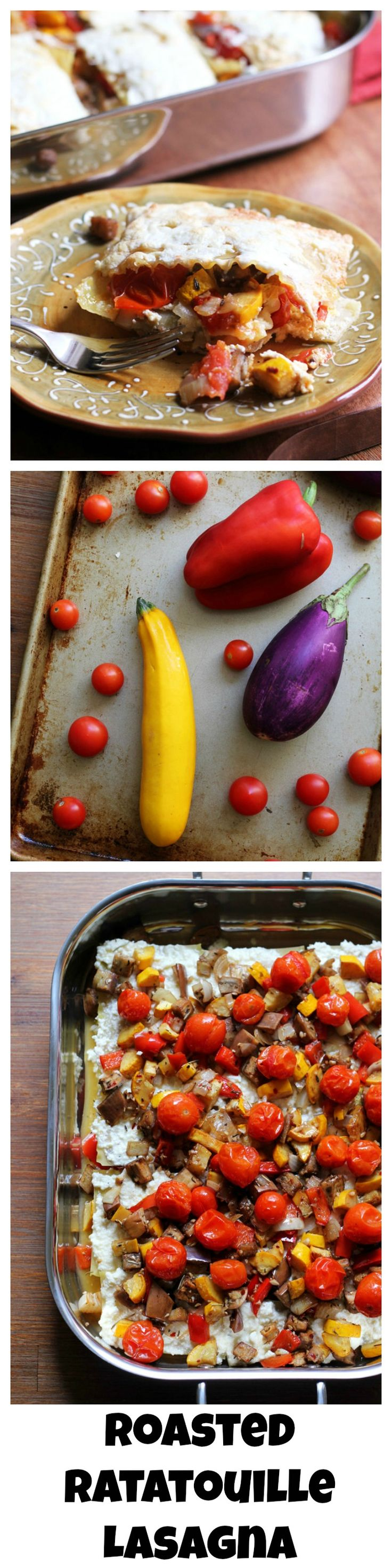 Ratatouille lasagna takes all of the veggies that go into the ...