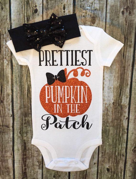 Halloween Onesie Halloween Shirt Prettiest Pumpkin In The