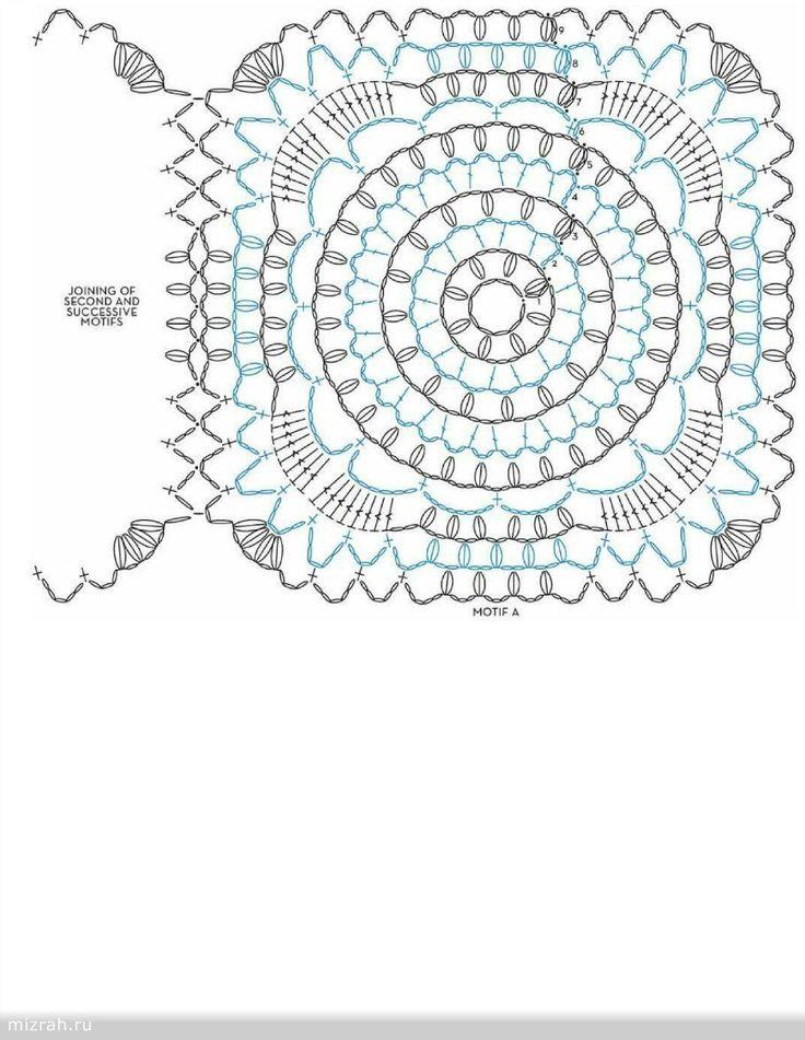 Crochet cape free pattern