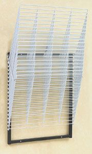 Compact 20-Shelf Wall Rack: This, or another drying rack would be nice to have if you're a prolific budding artist.