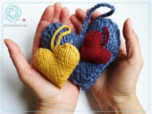 Kindness Heart aka Hand Full of Love by Cathliin - pattern {www.prawelewe.pl}