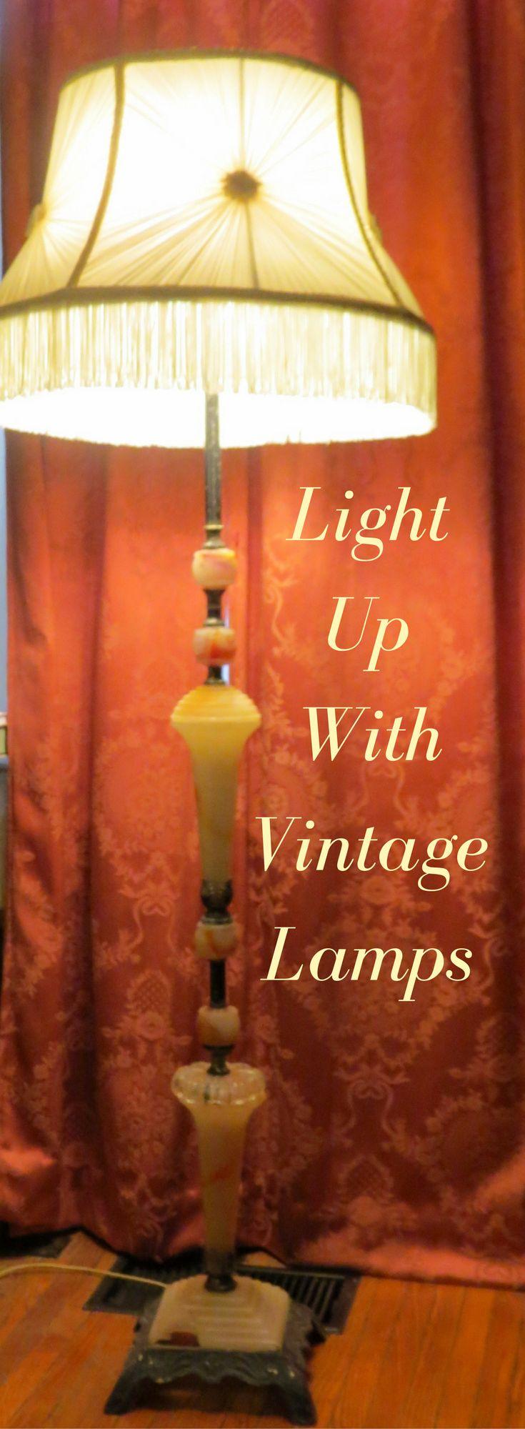 Loving all things vintage, vintage floor lamp, vintage decor, mid century lamps