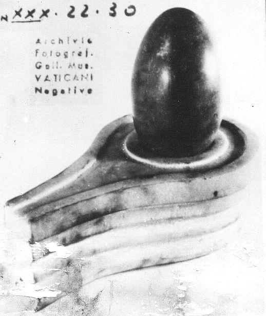 Gregorian Etruscan Museum Vatican City has ancient Shiva Lingam, proves ancient Vedic (hindu) culture in Italy. Vatican word derived from Vatika in Sanskrit